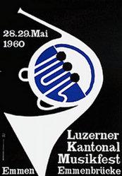 Monogramm E.W. - Musikfest Emmenbrücke