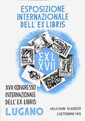 Anonym - Esposizinone dell' Exlibris Lugano