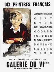 Anonym - Dix Peintres Français