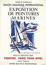 Anonym - Exposition de Peintures Marines