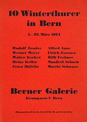 Anonym - 10 Winterthurer in Bern