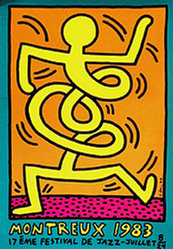 Haring Keith - Jazz Festival Montreux