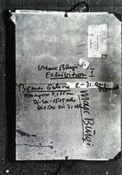 Anonym - Marc Bürgi Exhibition I