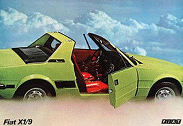 Anonym - Fiat X1/9