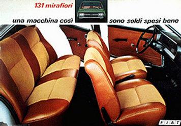 Fiat Publicità - Fiat 131 mirafiori Special