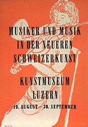 Hilber Fredy - Musiker und Musik in der neueren Schweizerkunst