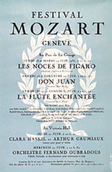 Poncy Eric - Festival Mozart Genève