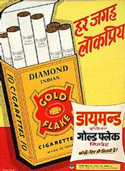 Green's Adv. - Gold Flake Cigarettes