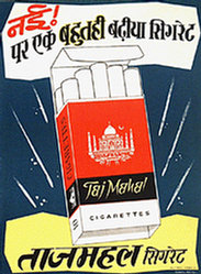 Green's Adv. - Taj Mahal Cigarettes