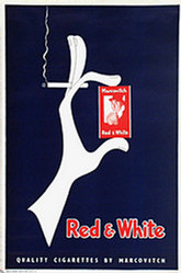 Anonym - Red & White Cigarettes