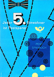 Huber Sepp - Post Sparbuch