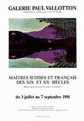 Anonym - Maîtres Suisses et Français
