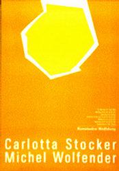 Anonym - Carlotta Stocker / Michel Wolfender