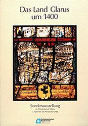 Anonym - Das Land Glarus um 1400