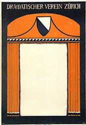 Monogramm V.H.W. - Dramatischer Verein Zürich