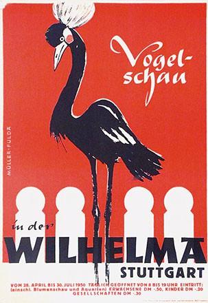 Müller - Wilhelma Vogelschau