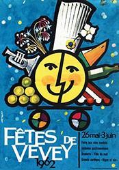 Artigas Josep - Fêtes de Vevey