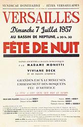 Anonym - Fête de Nuit Versailles