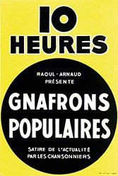 Anonym - Gnafrons Populaires