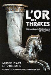 Pfirter J. - L'or des Thraces