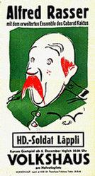 Lindegger Albert - HD-Soldat Läppli