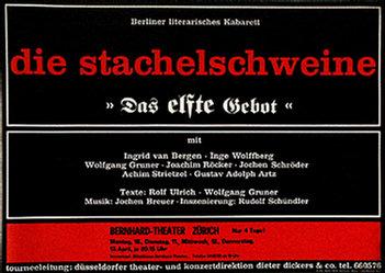 Wolff Walter - Die Stachelschweine