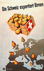 Krapf Karl O. - Die Schweiz exportiert Birnen