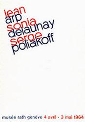 Anonym - Jean Arp / Sonia Delaunay / Serge Poliakoff