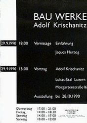 Anonym - Bauwerke Adolf Krischanitz
