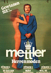 Anonym - Mettler Herrenmoden
