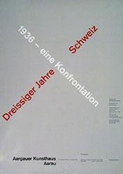 Weiersmüller / Bruggisser / Schmid - Dreissiger Jahre Schweiz