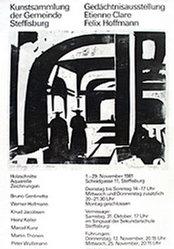Jacobsen Knud - Gedächtnisausstellungen Etienne Clare, Felix Hoffm