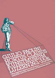 Steinemann Tino, Clemenz Philipp - Giulio Paolini / Hortus Clausus