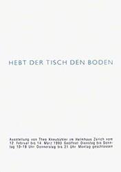 Anonym - Theo Kneubühler