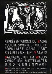 Anonym - Sakralkultur im Wallis