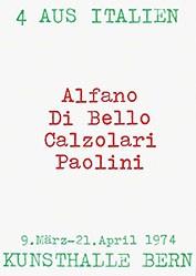 Anonym - 4 aus Italien