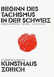 Diethelm Martin - Beginn des Tachismus in der Schweiz