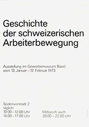 Anonym - Geschichte der schweizerischen Arbeiterbewegung