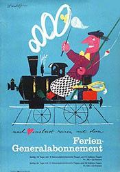 Brun Donald - SBB - Ferien-Generalabonnement