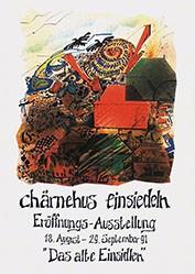 Schneider Zeno - Das alte Einsiedeln