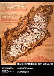 Neumann Pierre - Deux Expositions sur les alpes