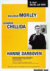 Anonym - Malcom Morley, Eduardo Chillida,