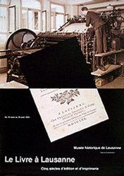 Neumann Pierre - Le Livre à Lausanne