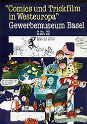 Zürcher Heinz - Comics und Trickfilm in Westeuropa