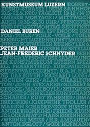 Steinemann Tino, Clemenz Philipp - Daniel Buren / Peter Maier / Jean-Frederic Schnyde