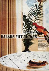 Götz Gabriele Franziska - Balkon mit Fächer
