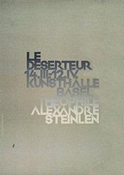 von Arx Peter - Le deserteur