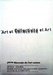 Zoug Hans Arnold - Art et Collectivité et Art