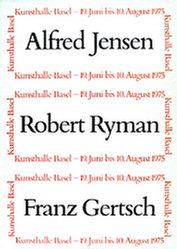 Anonym - Alfred Jensen / Roman Ryman / Franz Gertsch