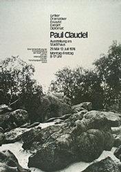 Scheidegger René Ferdinand - Paul Claudel
